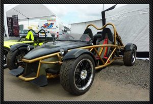 The MEV Rocket Kit Car
