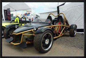 The MEV Rocket Kit Car