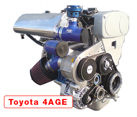Toyota 4AGE RAW STRIKER ENGINE