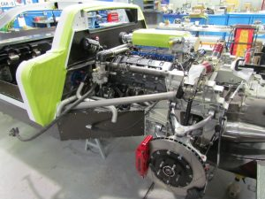 Engine side view