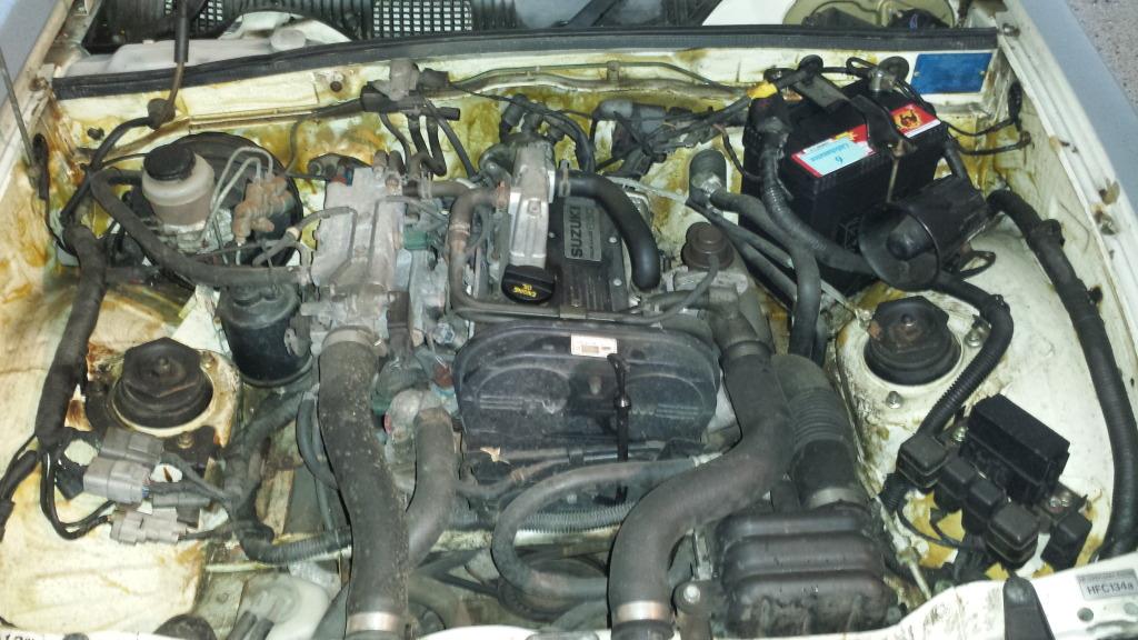 Suzuki F6A Engine