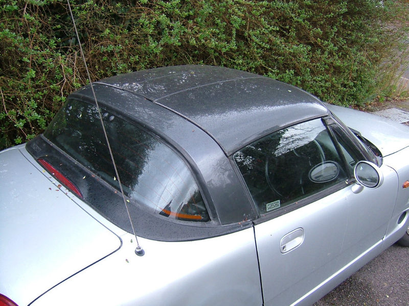 Suzuki Wraparound Glass Rear Window