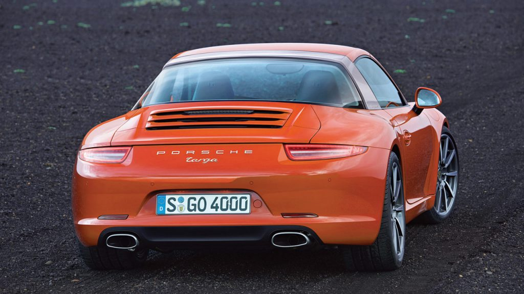 World premiere of a modern classic: The Porsche 911 Targa