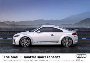 The Audi Tt Quattro Sport Concept