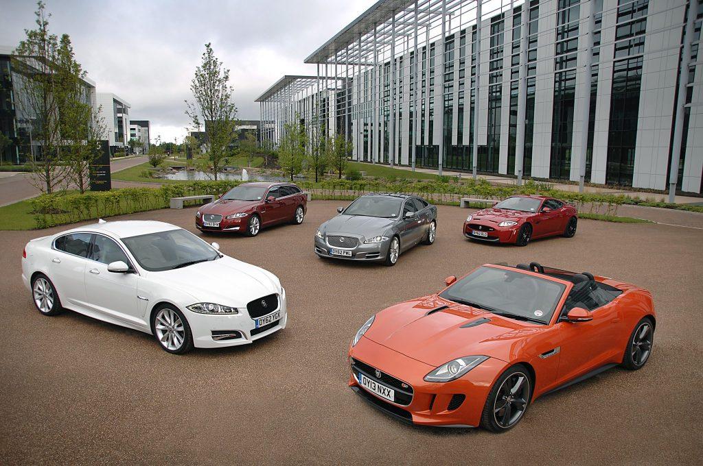 Jaguar Ranked Best Premium Manufacturer