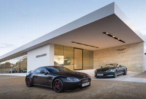 Aston Martin Works 14-plate success