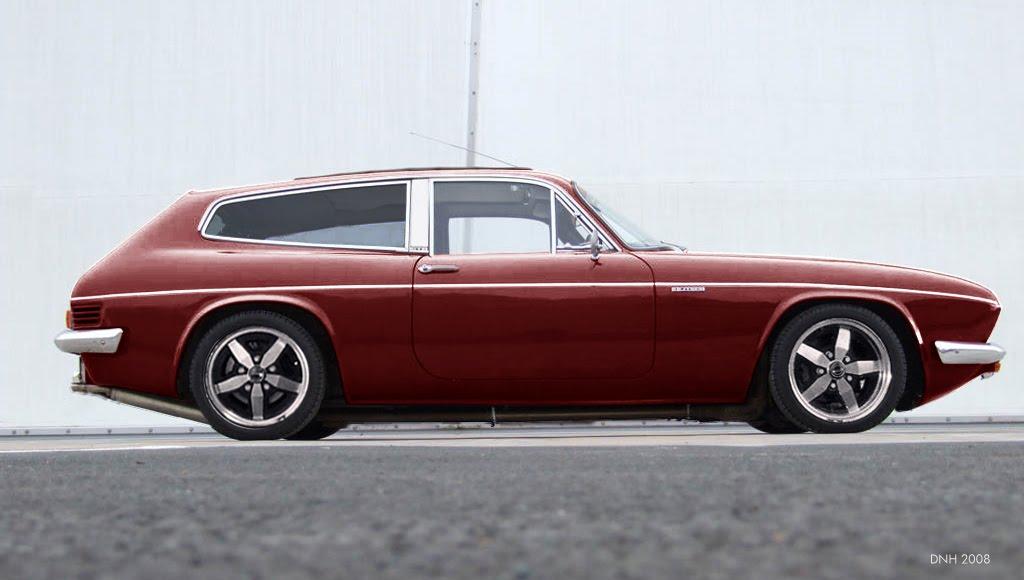 Reliant Scimitar GTE-05