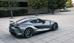 TOYOTA FT-1: A CAR FIT FOR SUPERHEROES
