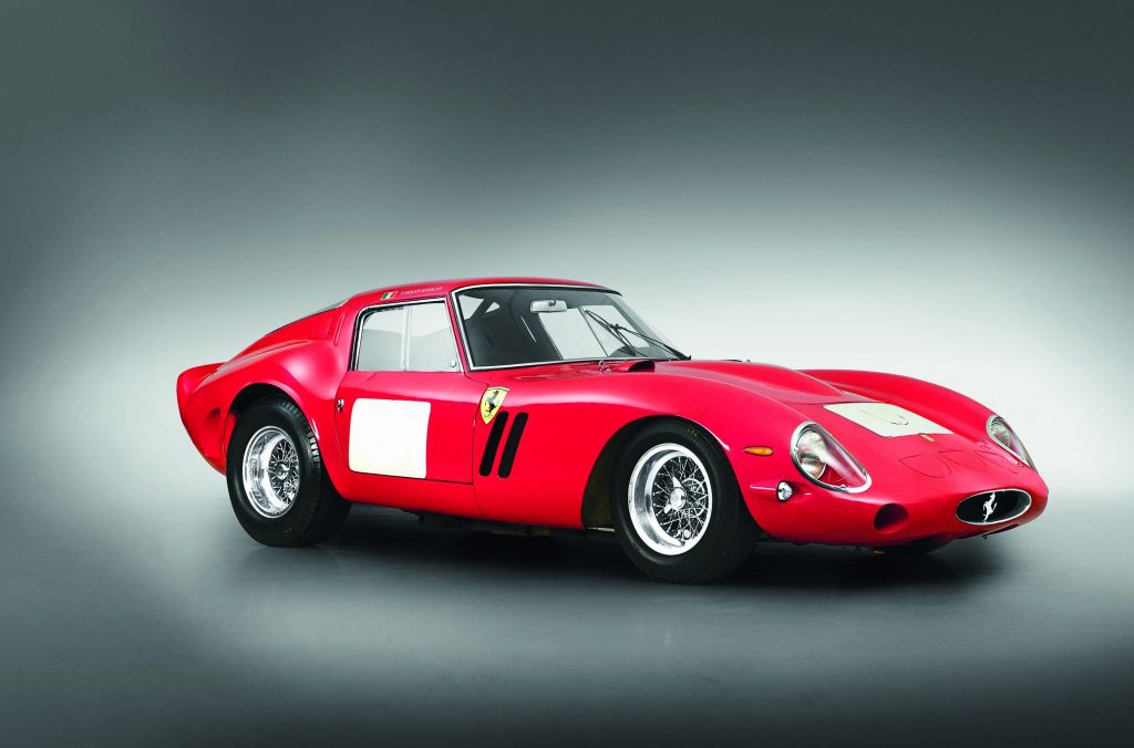 he 1962 Ferrari 250 GTO Berlinetta is one of only 39 models made.
