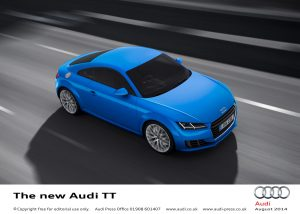 High-tech Audi Tt Is Ready To Blaze A New Trail In The Uk