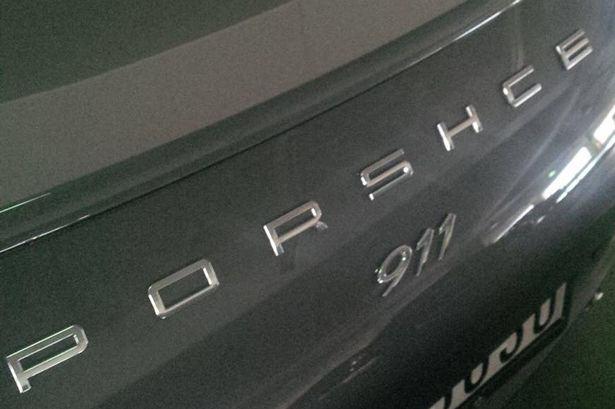 Porsche Mistake