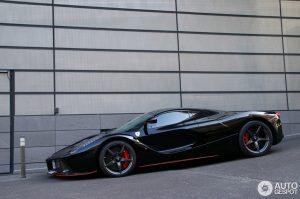 Felipe Massa's Stunning Black LaFerrari Spotted in Monaco