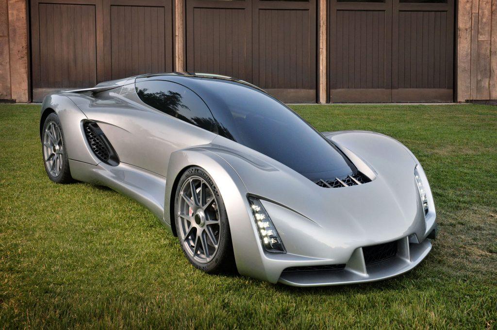 3D Printed Super Car