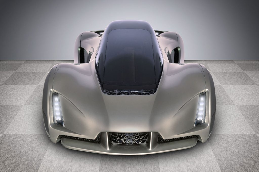 3D Printed Super Car