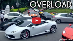 Lamborghini Traffic Jam in Singapore