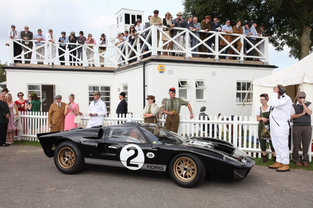 1964 Mk I GT40 race car will feature in the Bruce McLaren tribute