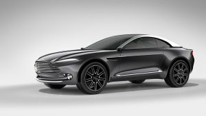 Aston Martin Showcases Sports Car Design At Tom Dixon's Multiplex