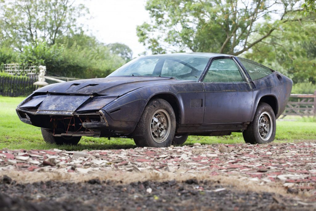 The 'Sotheby Special' Dbsv8 – Unseen For 40 Years, Rare 'barn-find Aston Martin Set To Light Up H&H's 14 October Sale