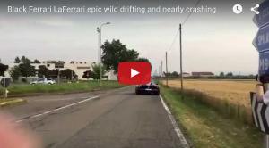 LaFerrari Drifting