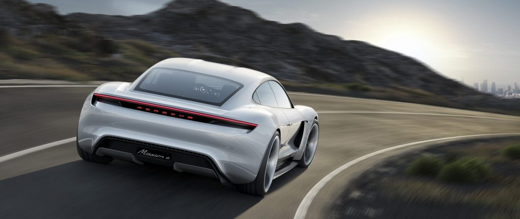 Porsche Mission E Concept Car