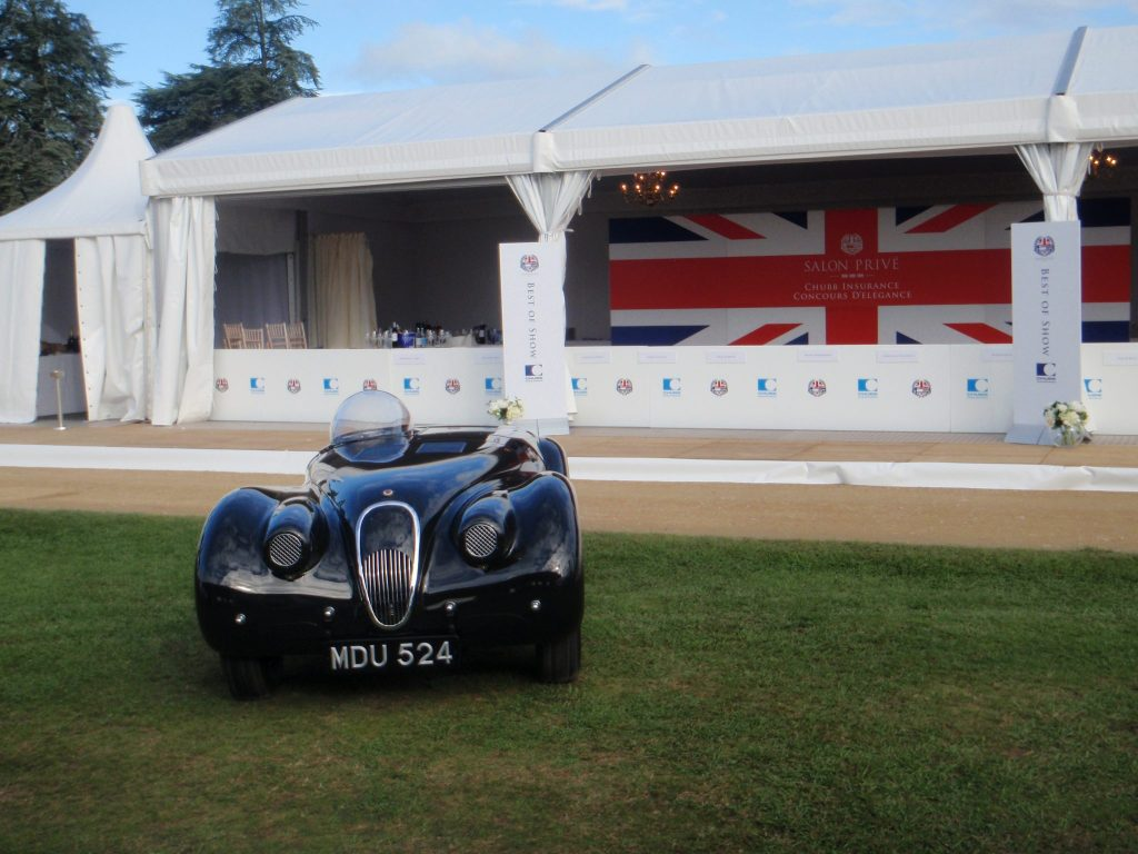 Jd Classics-restored Xk120 'jabbeke' Wins Coveted Best Of Show Award At Salon Prive Concours D'elegance