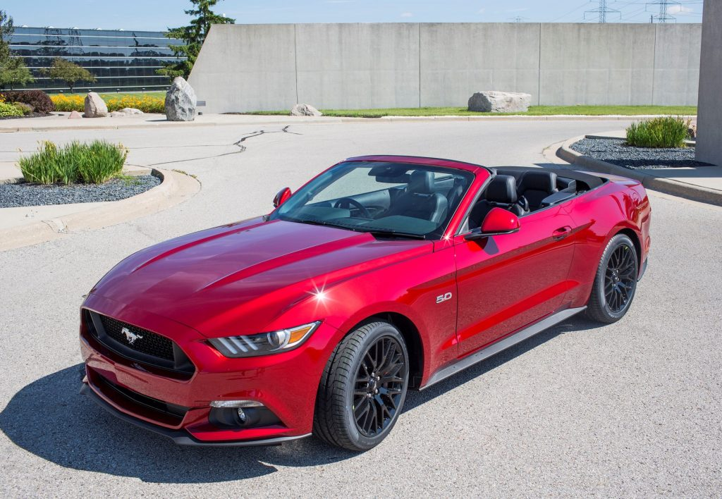 The Ford Mustang will make its first UK appearance in right-hand drive