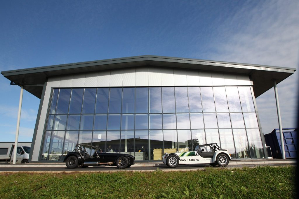 Caterham Launches New Dealership At Donington Park
