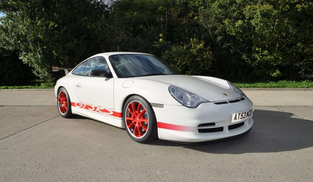2003 Porsche 911 996 GT3 RS White_Red 1