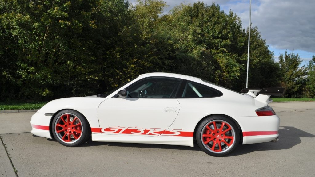 2003 Porsche 911 996 GT3 RS White_Red 3