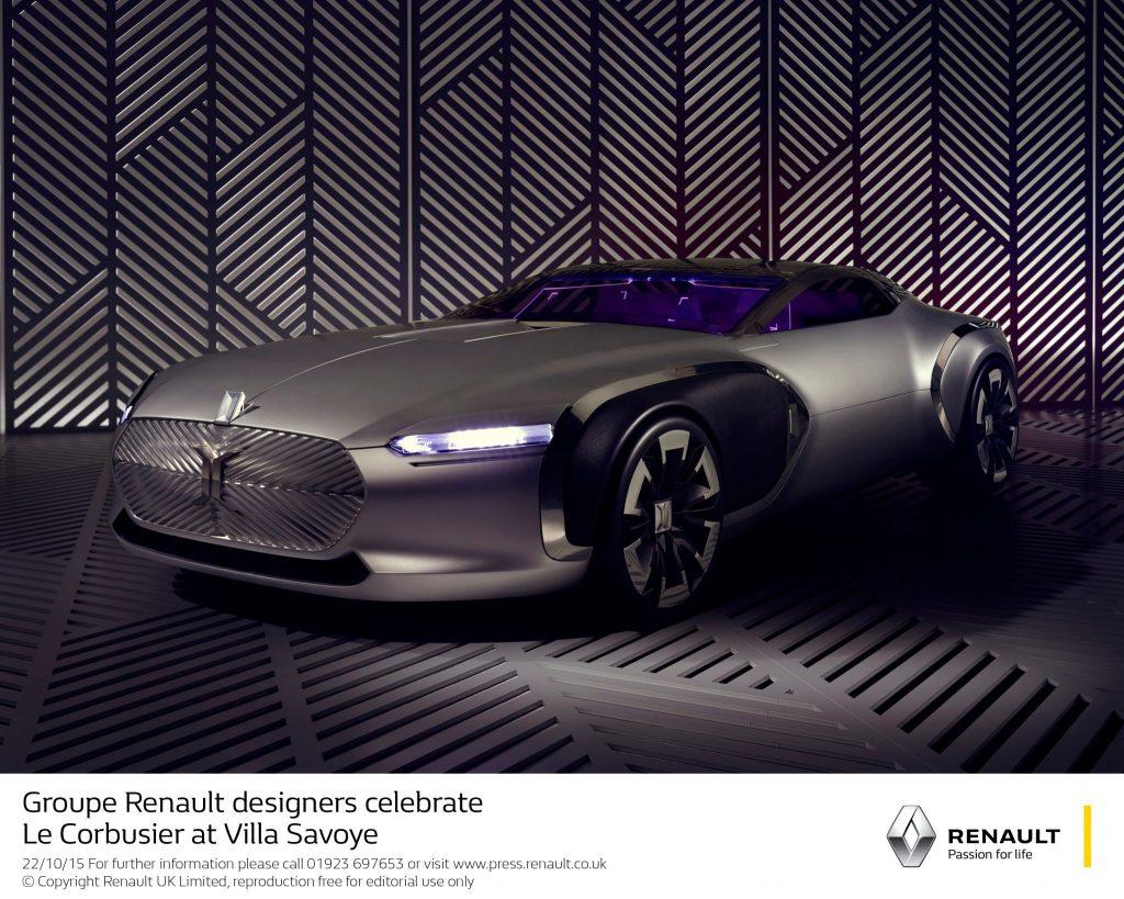 Groupe Renault Designers Celebrate Le Corbusier At Villa Savoye