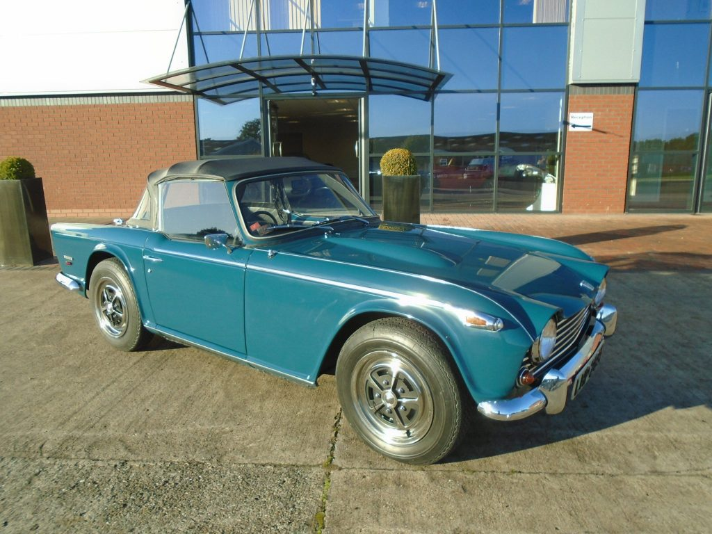 First Production TR5 To Be Sold By Classic Motor Cars