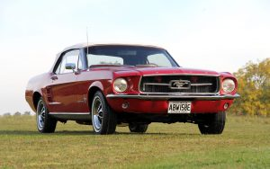 Charles Dance's 1967 Ford Mustang For Auction