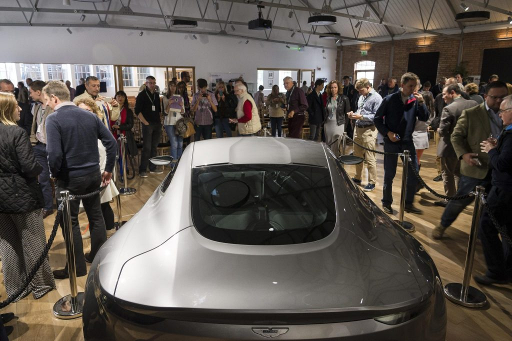 DB10 Tour at Aston Martin Works 2
