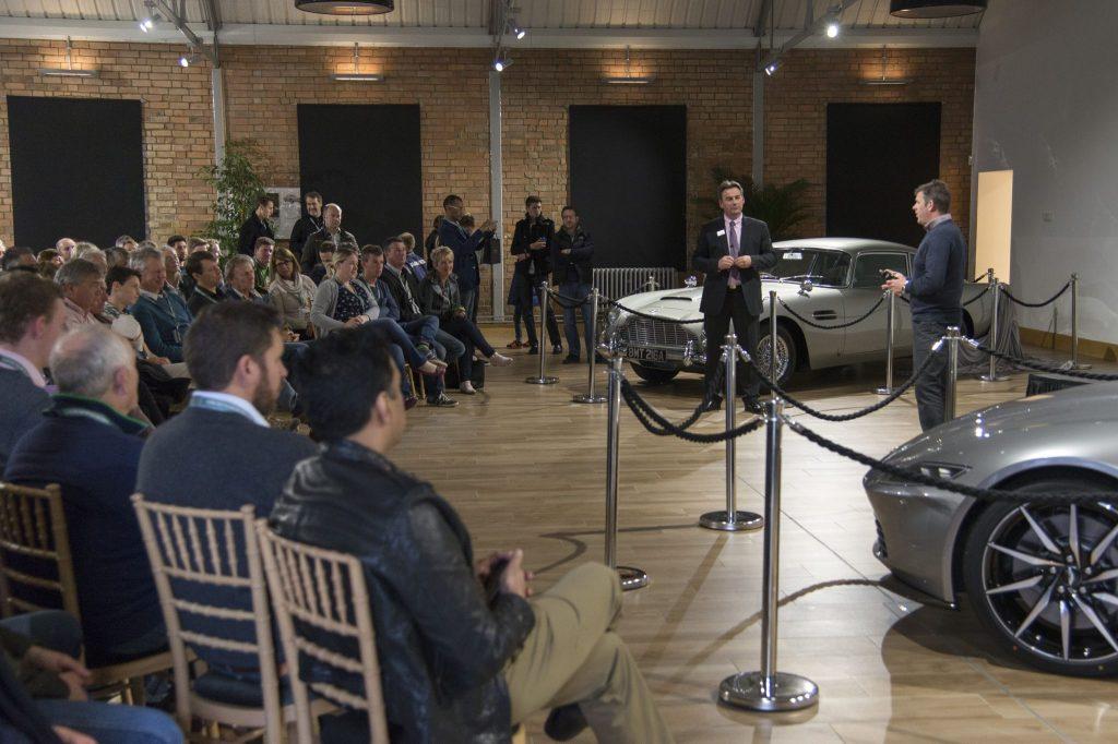 DB10 Tour at Aston Martin Works 4
