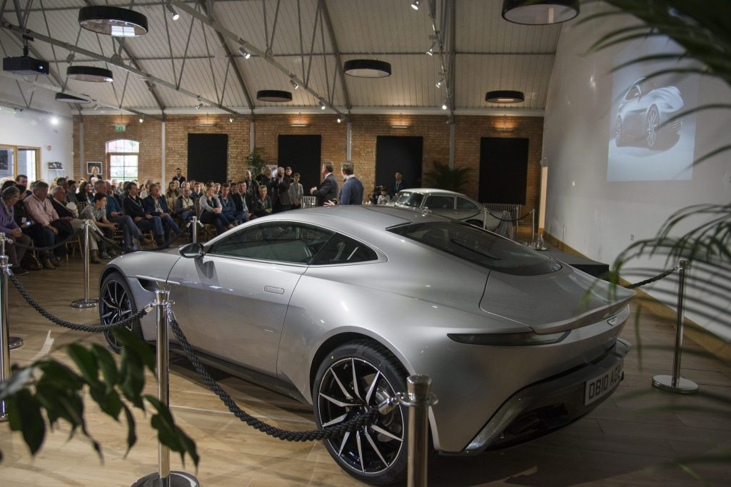 DB10 tour at Aston Martin Works