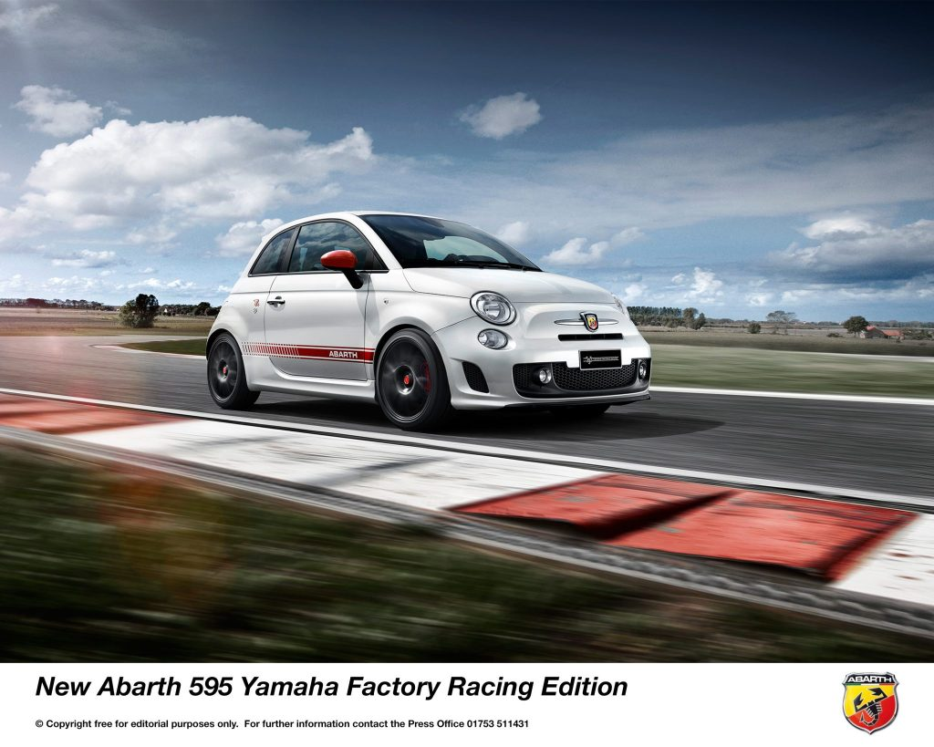 ABARTH ANNOUNCES NEW 595 YAMAHA FACTORY RACING EDITIONABARTH ANNOUNCES NEW 595 YAMAHA FACTORY RACING EDITION