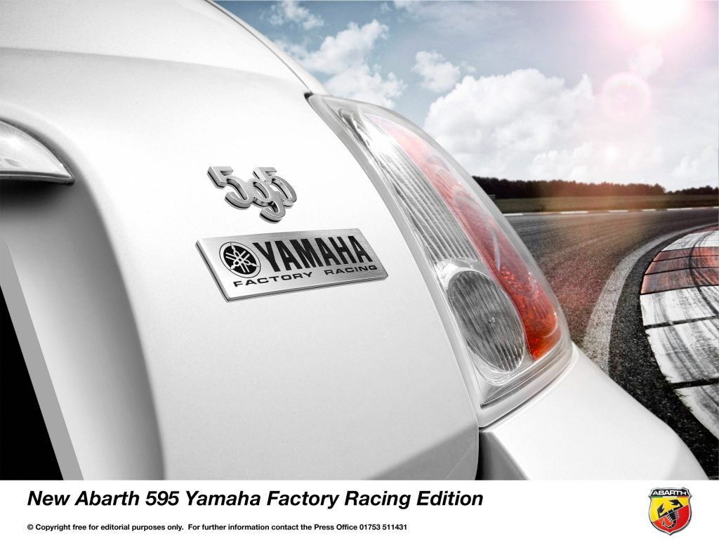 Abarth Announces New 595 Yamaha Factory Racing Edition