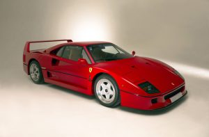 Unique 'connolly' F40 Completes Line-up Of Fabulous Ferraris At H&H's 14 October Duxford Sale