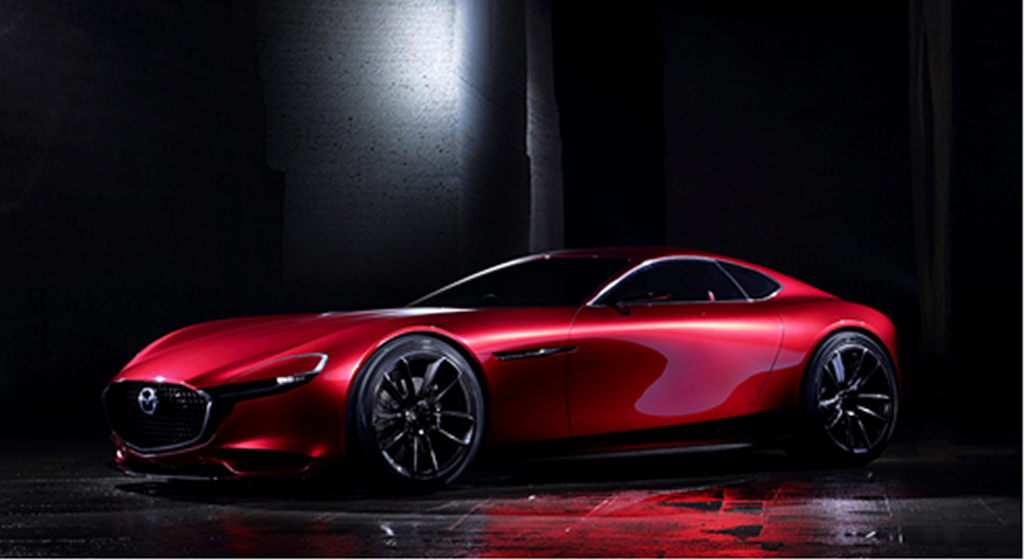 Mazda Unveils Rotary Sports Car Concept In Tokyo