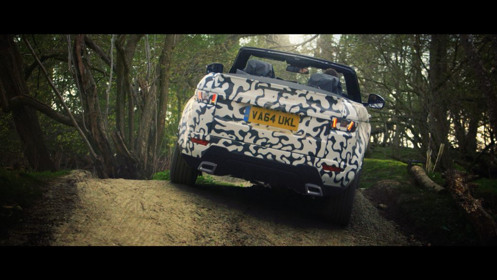 Range Rover Evoque Convertible testing at Eastnor (1)