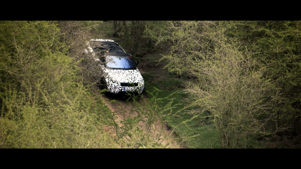 Range Rover Evoque Convertible testing at Eastnor (3)