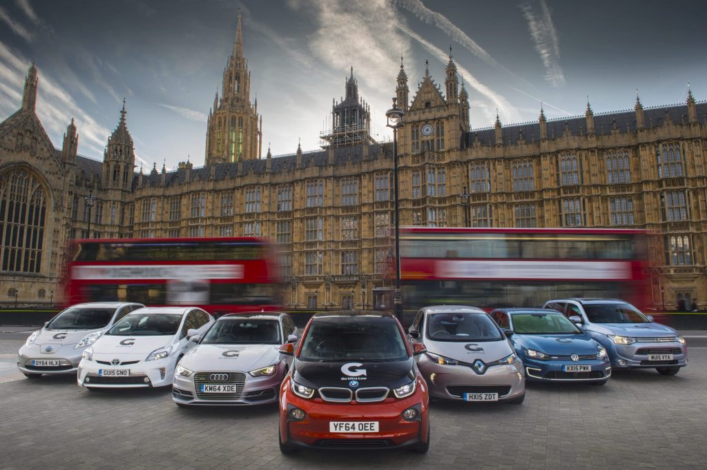 Regent Street Motor Show Go Ultra Low