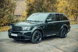 Drive It Like Beckham: David's Range Rover Sport For Sale