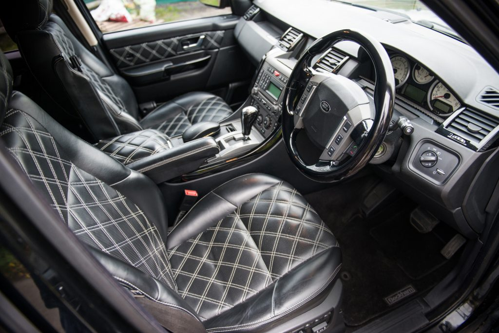 Drive It Like Beckham: David's Range Rover Sport For Sale