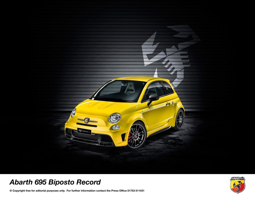 Abarth Announces Limited Edition 695 Biposto Record