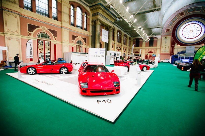 H.R. Owen displays gleaming F40