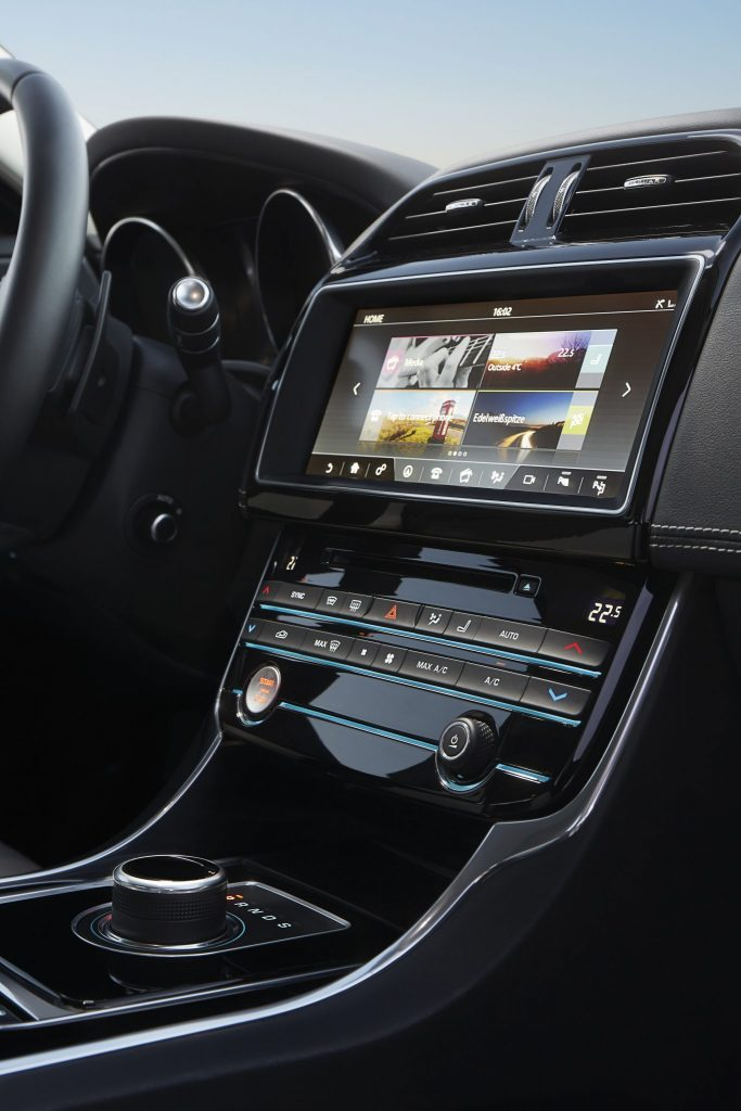 Jaguar XE Gains All-wheel Drive, Next-generation Infotainment System And Apple Watch