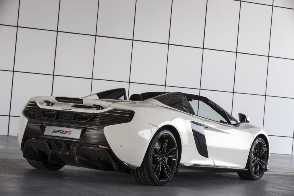 McLaren Unveils Exclusive 650s Spider Al Sahara 79 By MSO