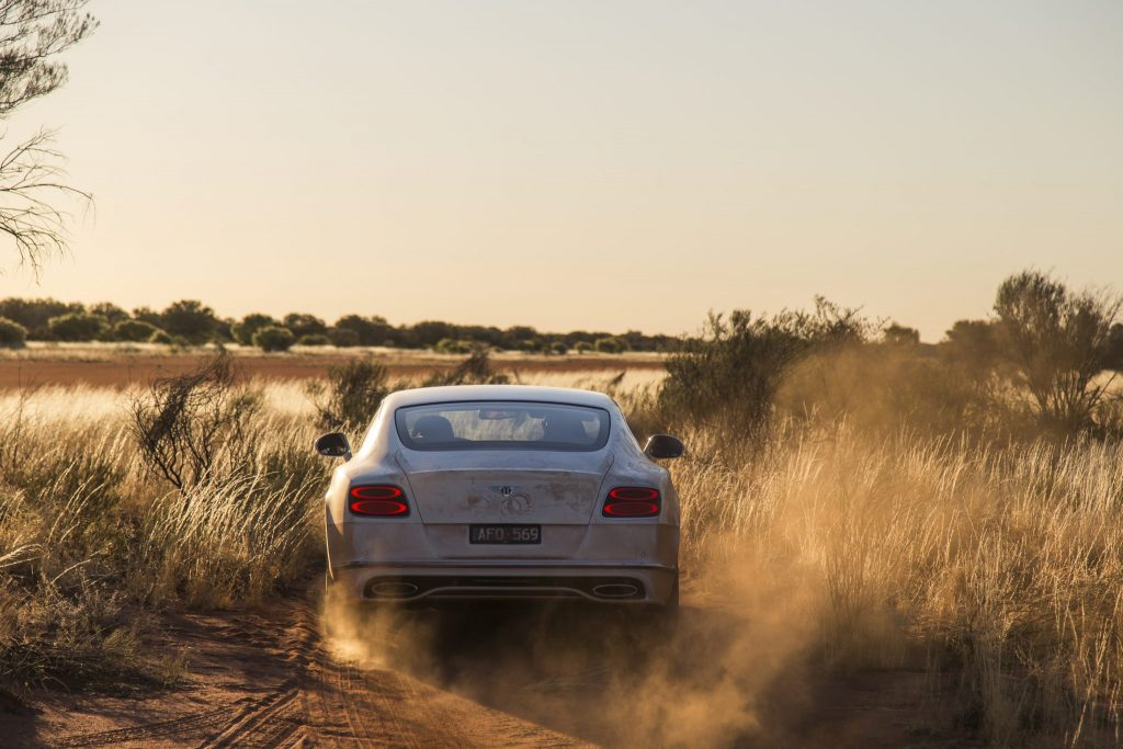 Bentley Continental GT Speed: VMAX In The Outback