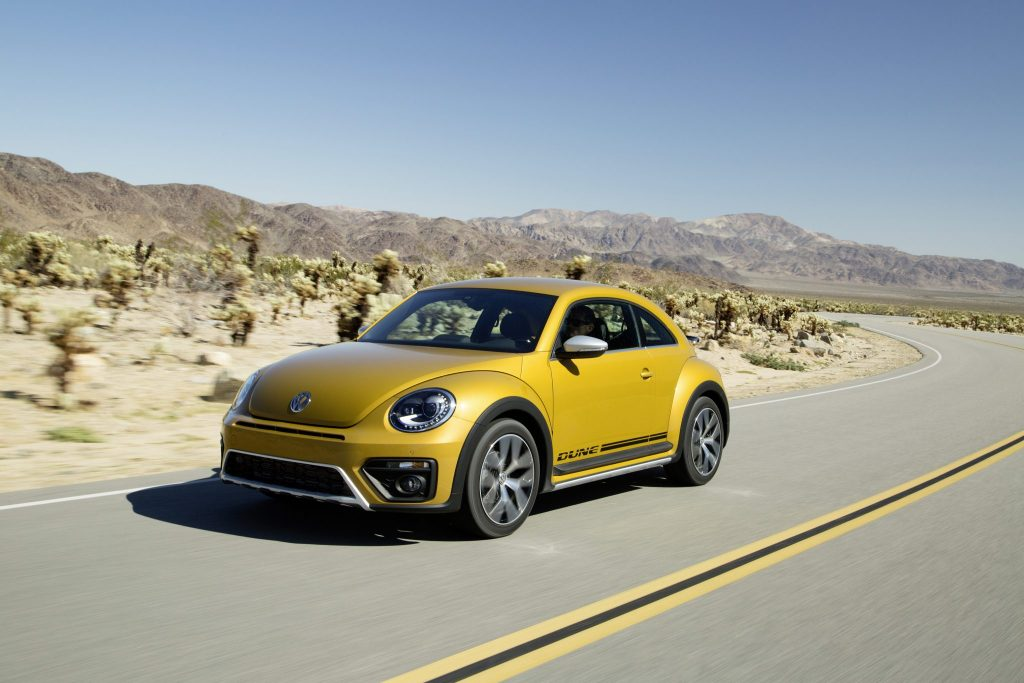 The new Volkswagen Beetle Dune 1
